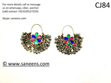New saneens Muslims designs jewellery for ears