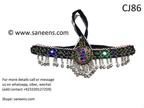 New afghan saneens online jewellery fro head