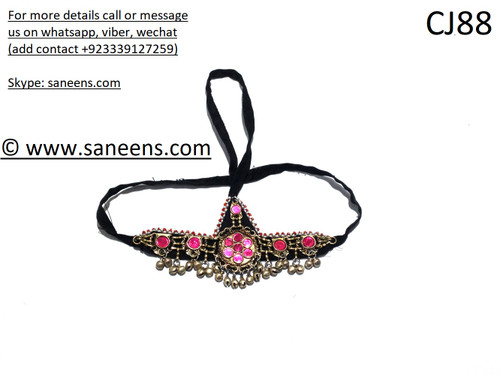 Traditional online kuchi kids  jewellery for head