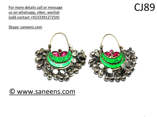 New afghan Muslim fashion earrings