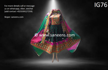 New afghan bridals clothes by saneens  for parties