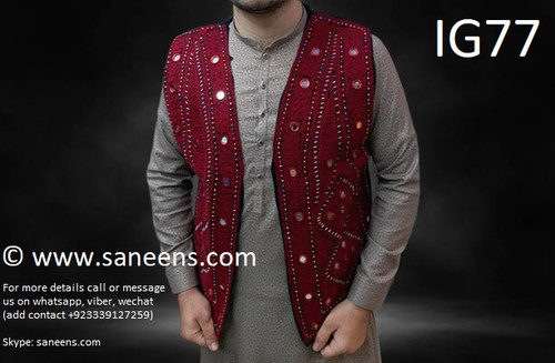 New afghan beautiful vest for matching couple