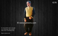 New afghan men dress for nikkah by saneens