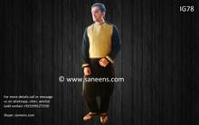 New afghan men dress for nikkah by saneens