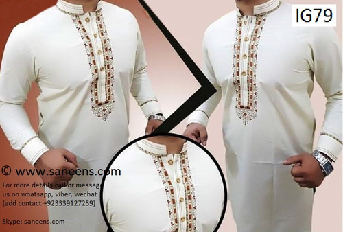 New afghan online men clothes by saneens for  culture