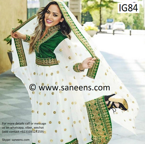 New afghan saneens traditional cultural clothes for girls