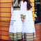 traditional fashionable saneens clothes for bridesmaids in two colors