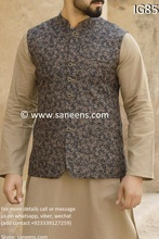 New pashtun style fashion able  new clothes with beautiful vest