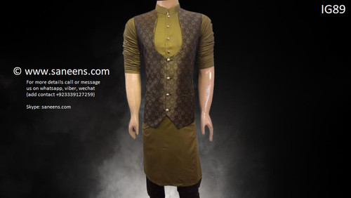 New afghan traditional clothes for boys with beautiful vest