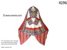 New pashtun style zarri tarr hand work embroidery