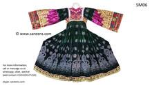kuchi vintage dress, afghan dast dozi frock