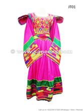 Kochi Dress, Gagra, in Pink Color
