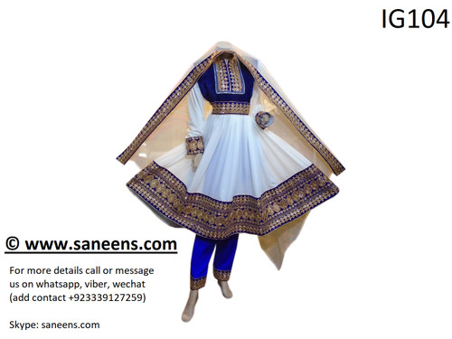 New afghan fashionable traditional clothes for nikkah