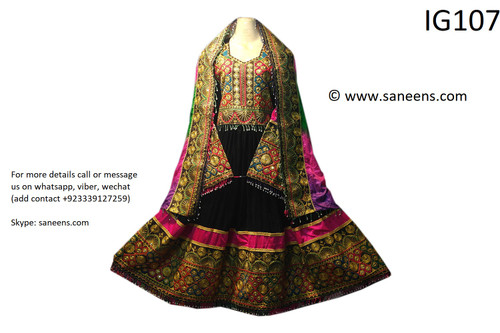 New afghan fashion cultural clothes for nikkah