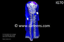 New afghan bridals hard embroidery long dress by saneens