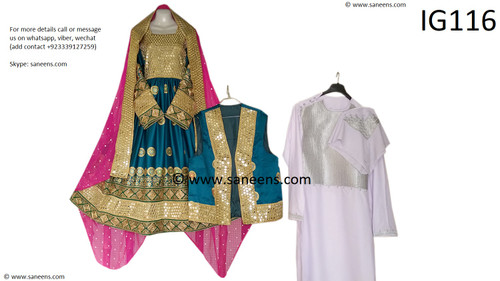 New afghan fashionable clothes by saneens