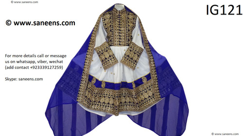 Traditional afghan kuchi style new clothes