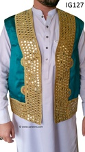 New Afghan bridals groom vest