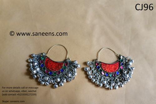 new afghan fashionable kuchi style new earrings