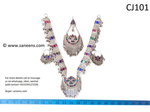 Afghan fashion kuchi silver sets
