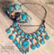 New afghan turkmen jewellery in turquoise color