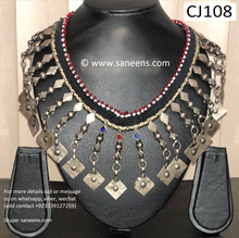 New afghan aryana saeed design kuchi vintage necklace