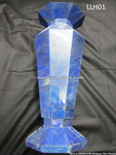 afghan lapis stone vase