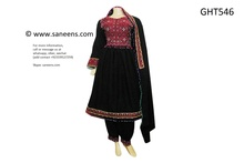 afghan clothes, pashtoon bridal frock
