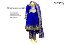 High Low Design Afghan Fashion Dress Pashtun Persian Bridal Costume