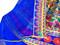 afghan chiffon shawl dress