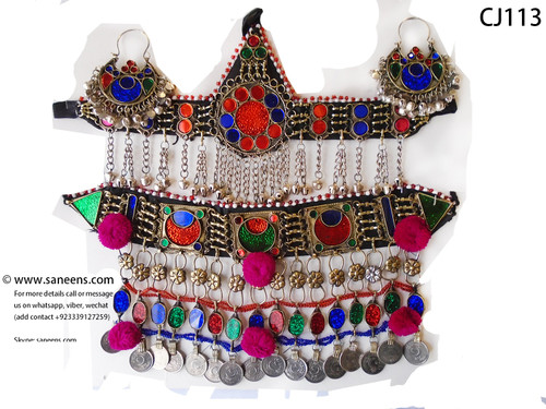 New afghan bridals polish jewellery sets for bridals