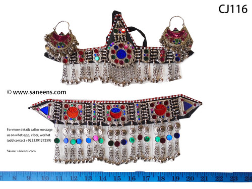 New afghan fashion jewellery in white color