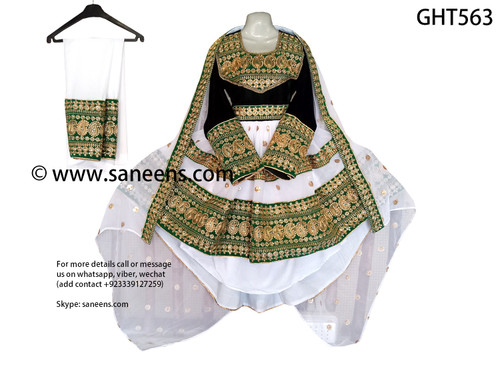 New Afghan clothes for nikkah