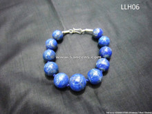 tribal afghan artwork lapis stone bracelet