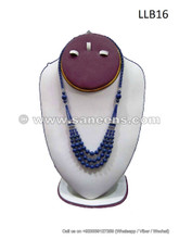 afghan lapis stone beads necklace, afghan pure lapis lazuli stones beads