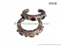 nomad boho chic ethnic bangles, ats bellydance performance cuffs