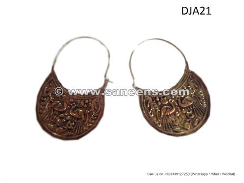 afghan jewelry, afghan earrings, nomad ethnic earrings