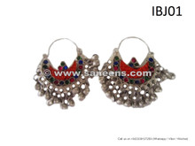 afghan jewelry, kuchi jewellery earrings