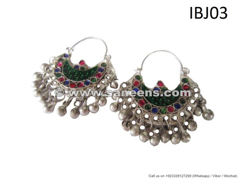 afghan jewelry earrings