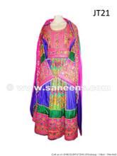 afghan bridal frock