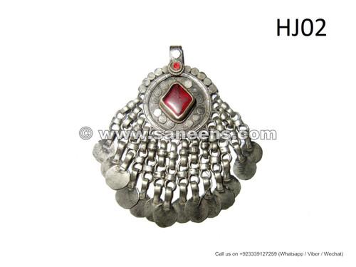 afghan kuchi tika pendant, kuchi jewellery pendants