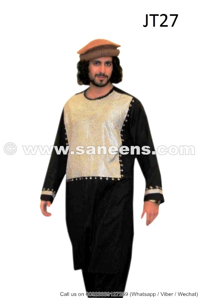 Afghan Kuchi Gents Dress Hand Embroidered Afghan Fashion Male Clothes