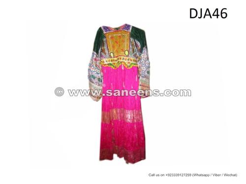 buy vintage afghan dresses, kuchi fashion ethnic clothes