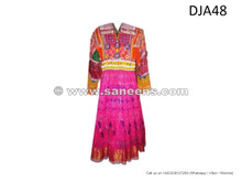 tribal artwork handmade dress