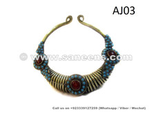 kuchi ladies handmade chokers in wholesale