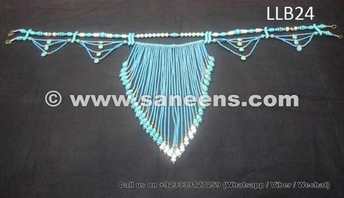 afghan kuchi precious stones belt