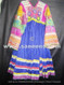 tribal fashion ethnic frock with silk embroidery