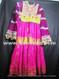 handmade afghan dress with banarasi clothes