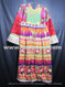 tribal fashion long dress with mirror embroidery