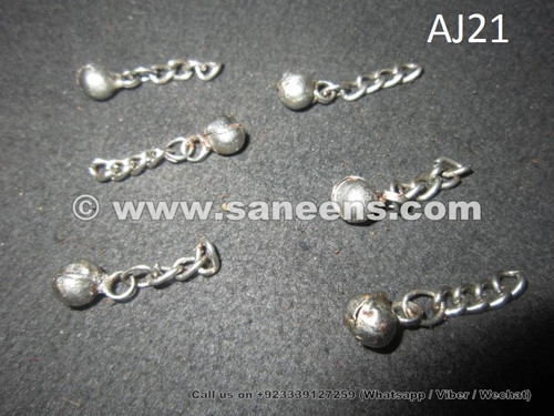 American tribal style Kuchi Chains with small balls hanging